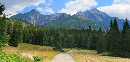 Summer terkking in the Slovak Tatras.