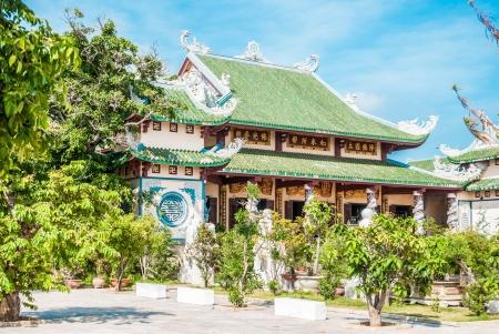 nang: Pagoda near Da Nang, Vietnam