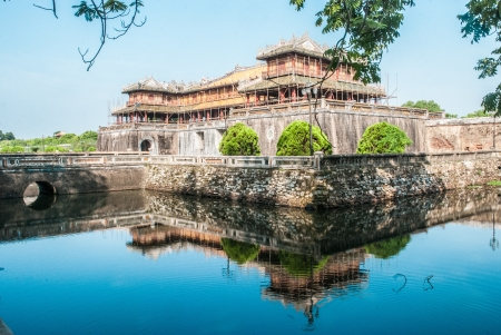 hue: Gateway to purple forbbiden city in Hue, Vietnam