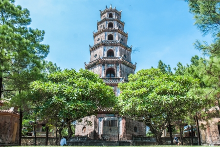 hue: The Most Famous Pagoda in Hue, Vietnam