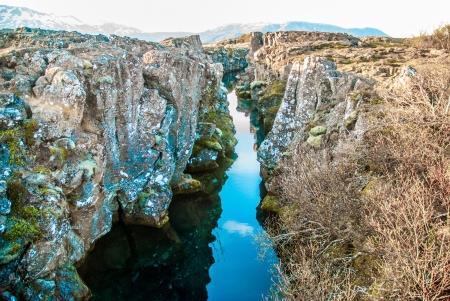 tectonics: Pingvellir, Iceland