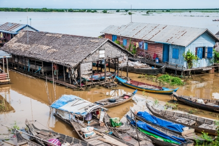 Floating villages, Cambodia