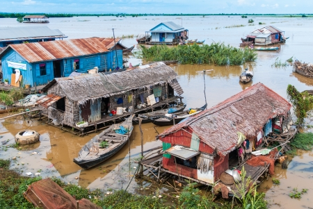 reap: Popular floating villages, Cambodia