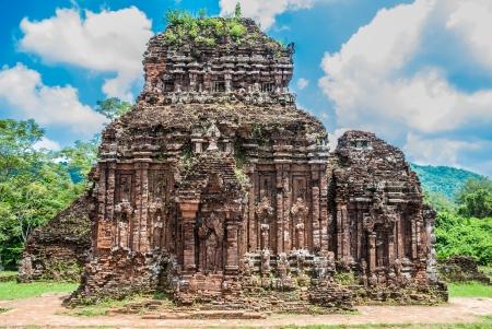 My Son Sanctuary, Vietnam Banco de Imagens