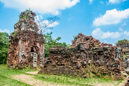 Ancient ruin of My Son, Vietnam