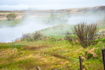vapore acqueo: Area naturale georhermal, Islanda