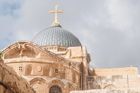Church of the Holy Sepulchre in Jerusalem, Israel photo