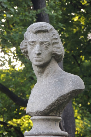 chopin: Frederick Chopin Monument in Poznan