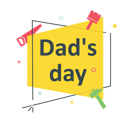 Banner for father's day Фото со стока - 79811399