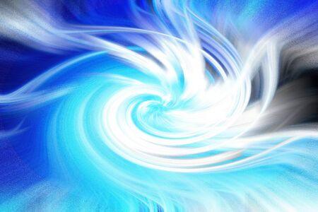 Abstract blue background / wallpaper of waves