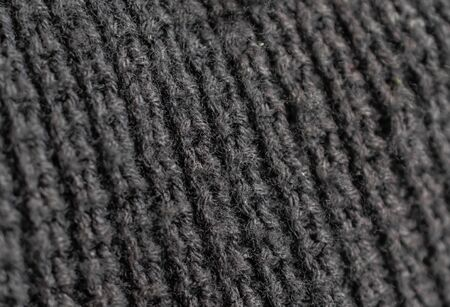 macro photo of black material.
