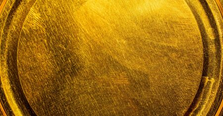 metal painted golden color texture or background