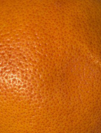 orange peel with visible texture. macro photo