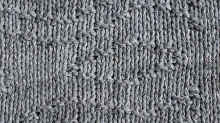 gray wool material macro photo with visible details
