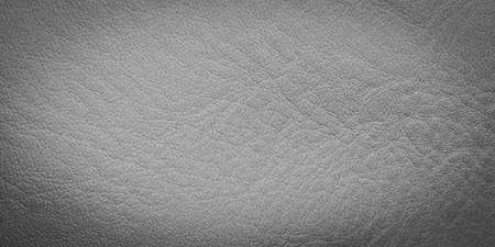 faux gray leather with visible details. background Stockfoto