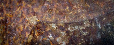 old brown rusty metal sheet. background or textura Zdjęcie Seryjne
