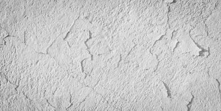 Wall with white paint peeling off. background Standard-Bild