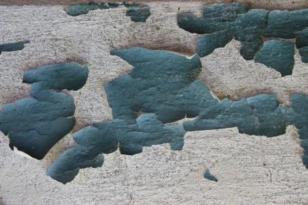 revestimientos: Pared gris cubierto con pintura vieja con las grietas