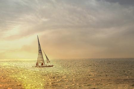 sea view background Stock Photo