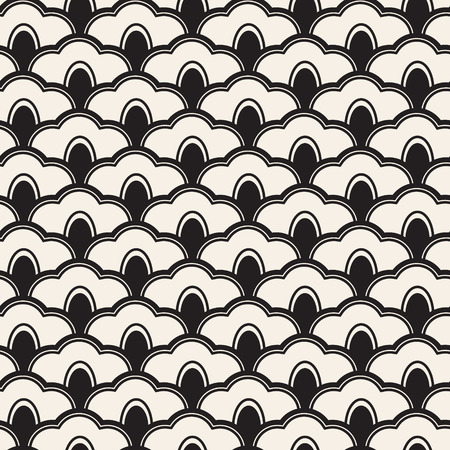 Grid pattern. Traditional japanesse ornament.