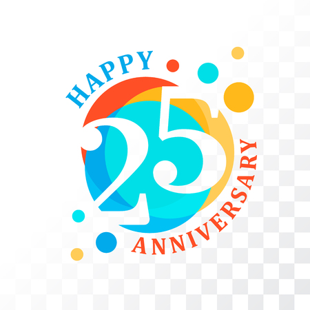 commemoration: 25th Anniversary emblem