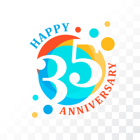 35th Anniversary emblem