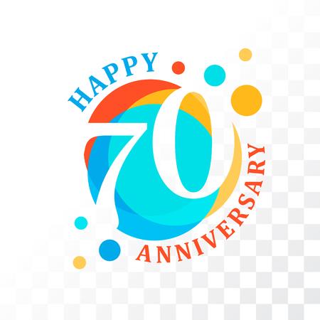 65th Anniversary emblem