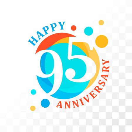 95th Anniversary emblem