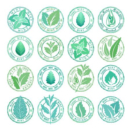 Collection de badges, de timbres et d'autocollants Banque d'images - 84120002