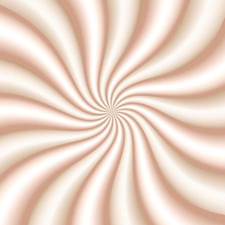 Vanilla and milk. Cream swirl. Twist texture for package design