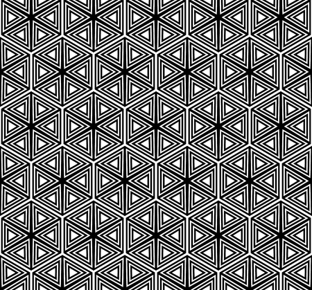 Geometric seamless vector pattern.