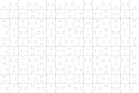 Puzzle background. Jigsaw game vector texture. Vettoriali