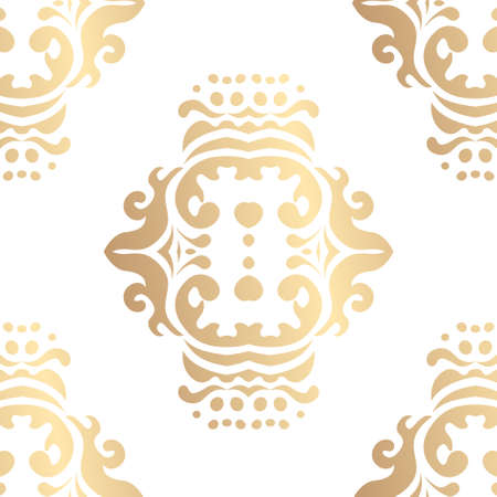 Seamless pattern with ornamental elements. Vector illustration ..