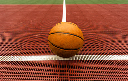 Basketball with court