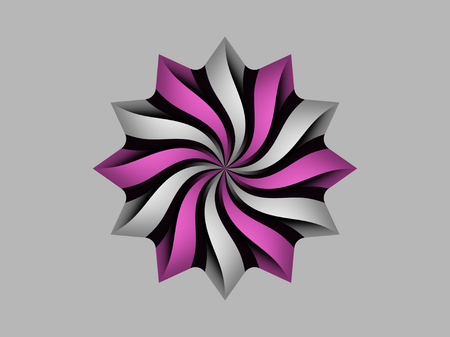 Colorful circular logo