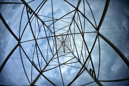 high voltage current: high voltage field