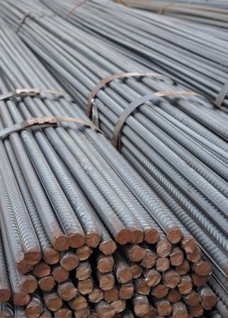 rejas de hierro: Barras de acero de refuerzo utilizados en la construcci�n