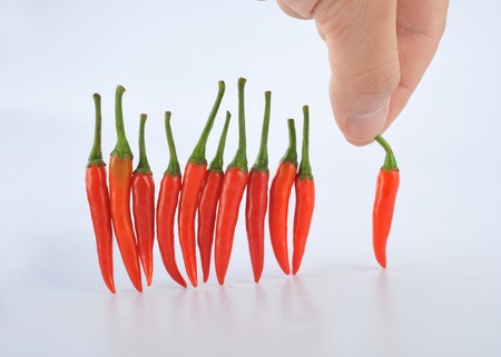 hotness: Selection of small hot pepper