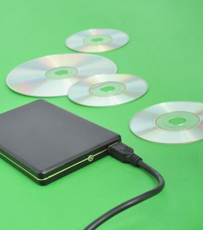 rewrite: Mobile hard drives and CD-ROM