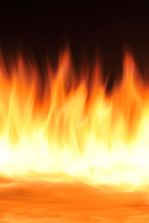 Flames of fire background texture Stock Photo