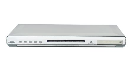 dvd player: Slim Silver Single DVD player