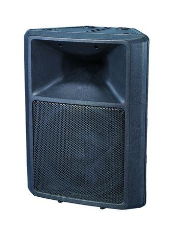 Sound box in white background photo