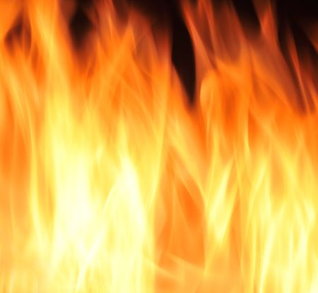 Flames of fire background texture photo