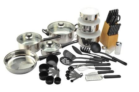 Varios utensilios de cocina Foto de archivo - 42505012