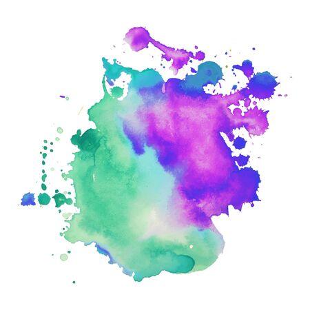 Fondo astratto dell'acquerello disegnato a mano