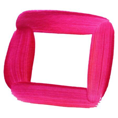 Acrylic or watercolor brush stroke.