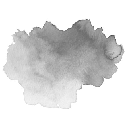 Grayscale abstract watercolor background for your design. Banque d'images - 138350991