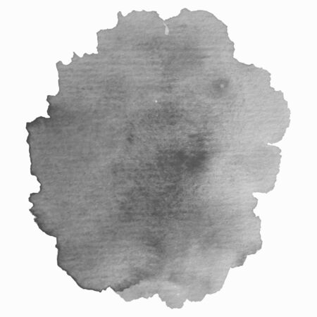 Grayscale abstract watercolor background for your design. Banque d'images - 138350989