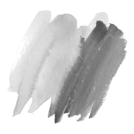 Grayscale abstract watercolor background for your design. Banque d'images - 138351008