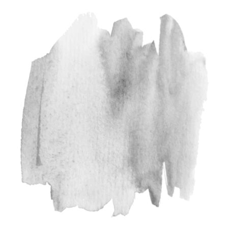 Grayscale abstract watercolor background for your design. Banque d'images - 138351011